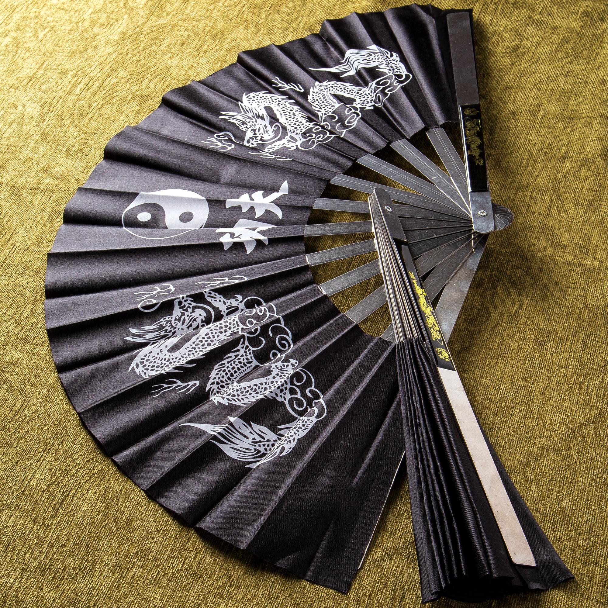 Martial Arts Fan Self Defense Weapon