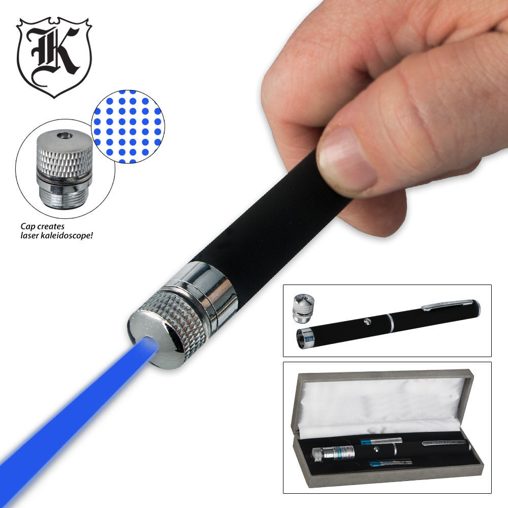 2 in 1 galaxy blue laser pointer kennesaw cutlery for Galaxy wand laser pointer