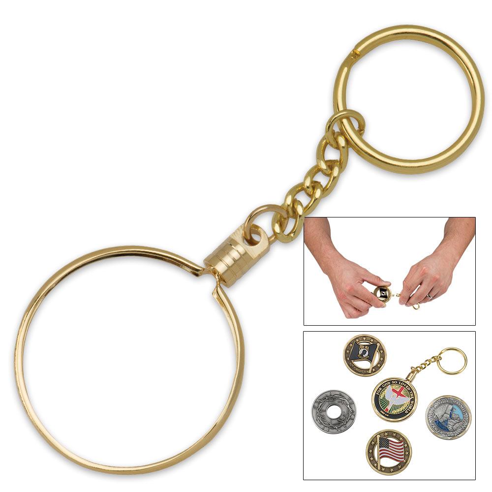 Challenge Coin Holder Key Chain