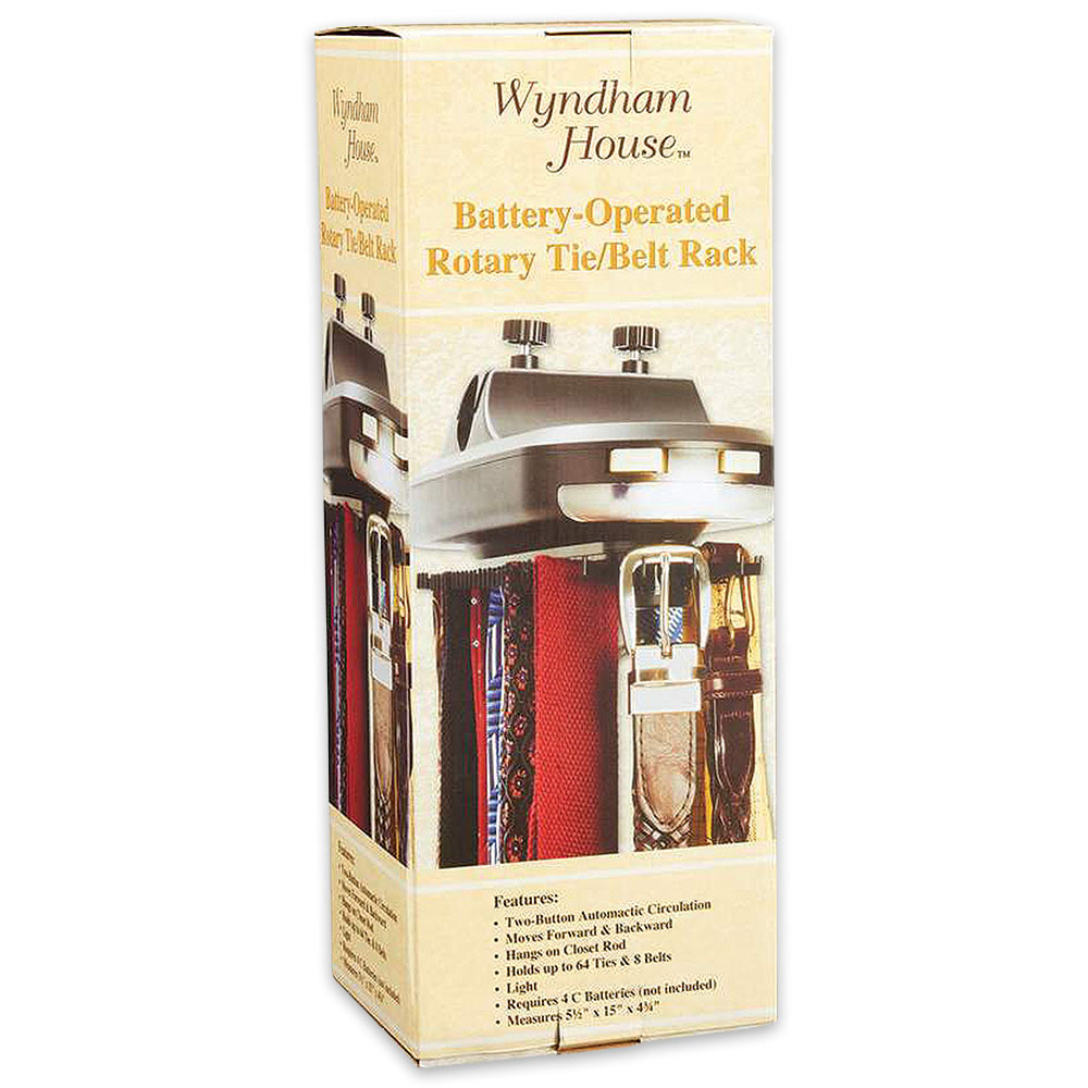 wyndham house rotary tie and belt rack knives swords at the lowest prices. Black Bedroom Furniture Sets. Home Design Ideas