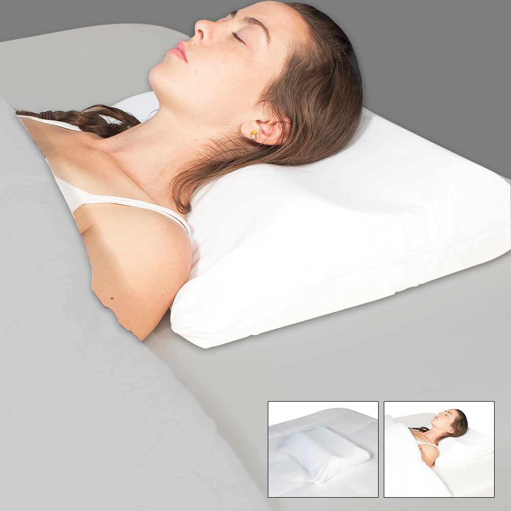 Science of sleep snore no more pillow The more pillows you sleep with