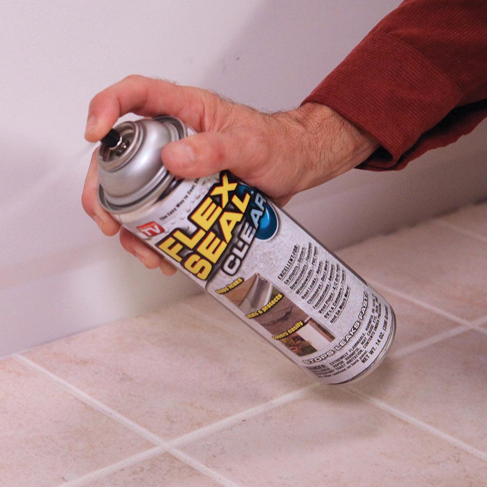 Flex Seal Clear Coating - Aerosol Spray | CHKadels com