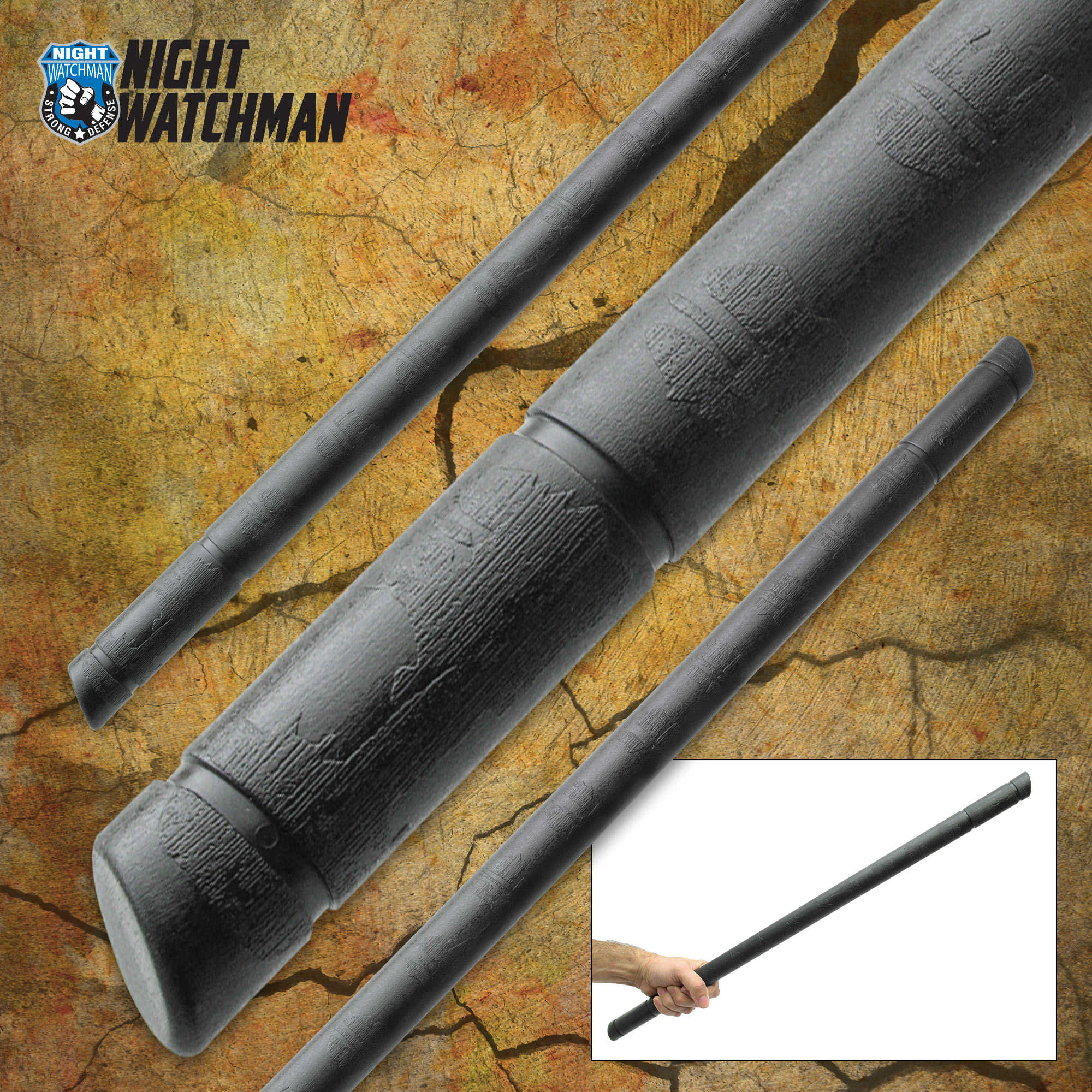 Night Watchman Escrima Fighting Stick - Polypropylene