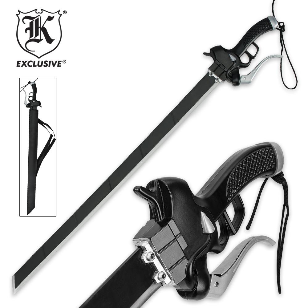 Titan Attack Fantasy Sword | BUDK.com - Knives & Swords At
