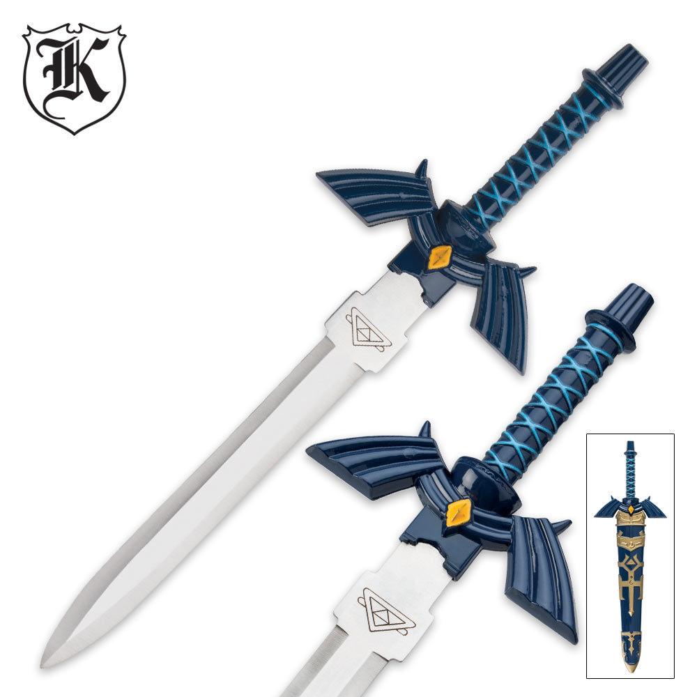 Mini Replica Blue Zelda Sword Budk Com Knives Amp Swords