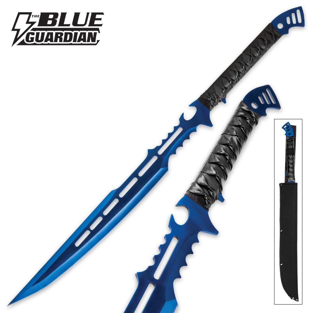 Blue Guardian Fantasy Sword With Sheath | BUDK.com ...