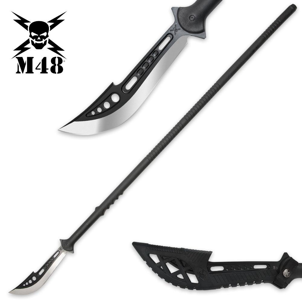 M48 Naginata Polearm With Sheath Budk Com Knives