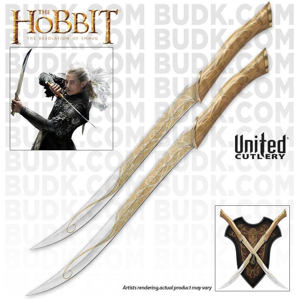 The Hobbit - Fighting Knives of Legolas Greenleaf ...