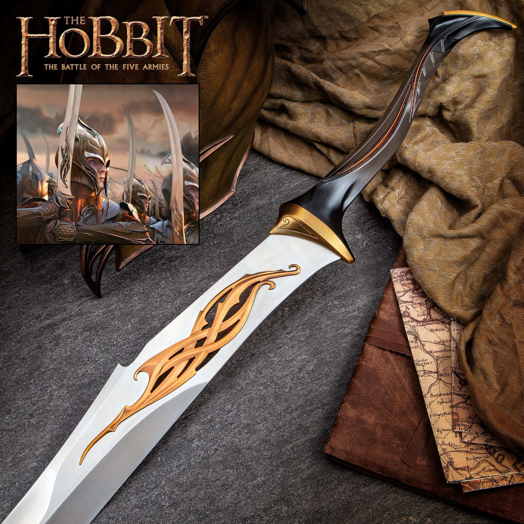 The Hobbit Mirkwood Infantry Sword Budk Com Knives