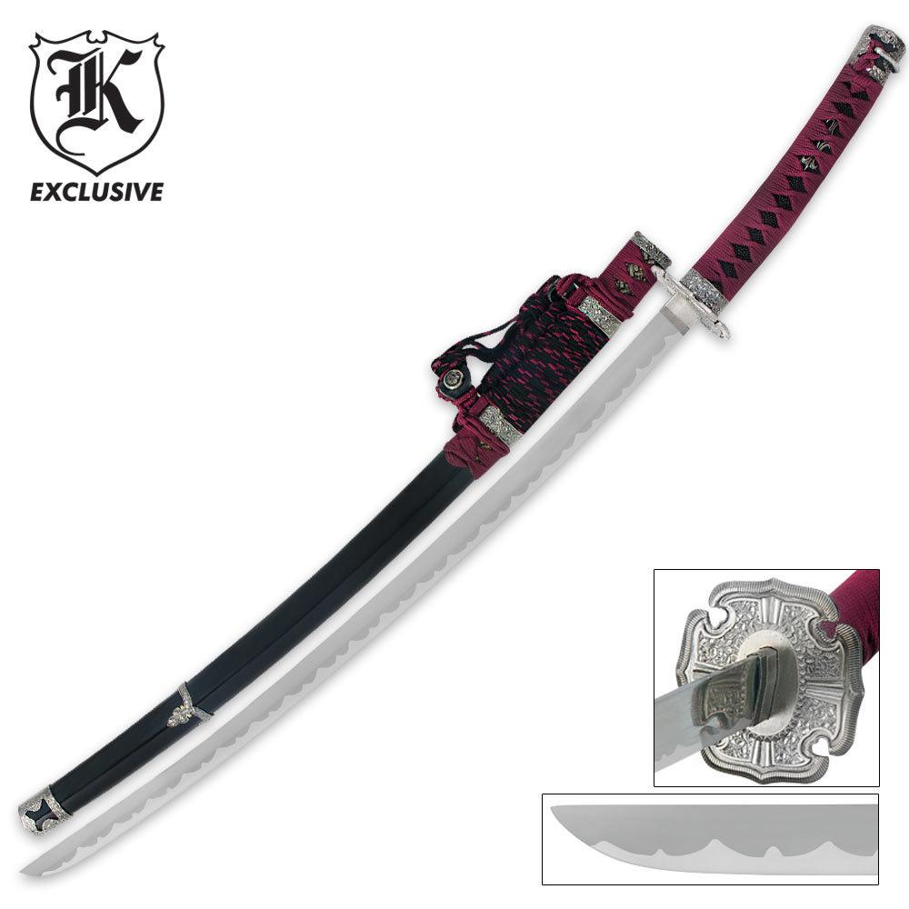 Samurai Warrior Katana...