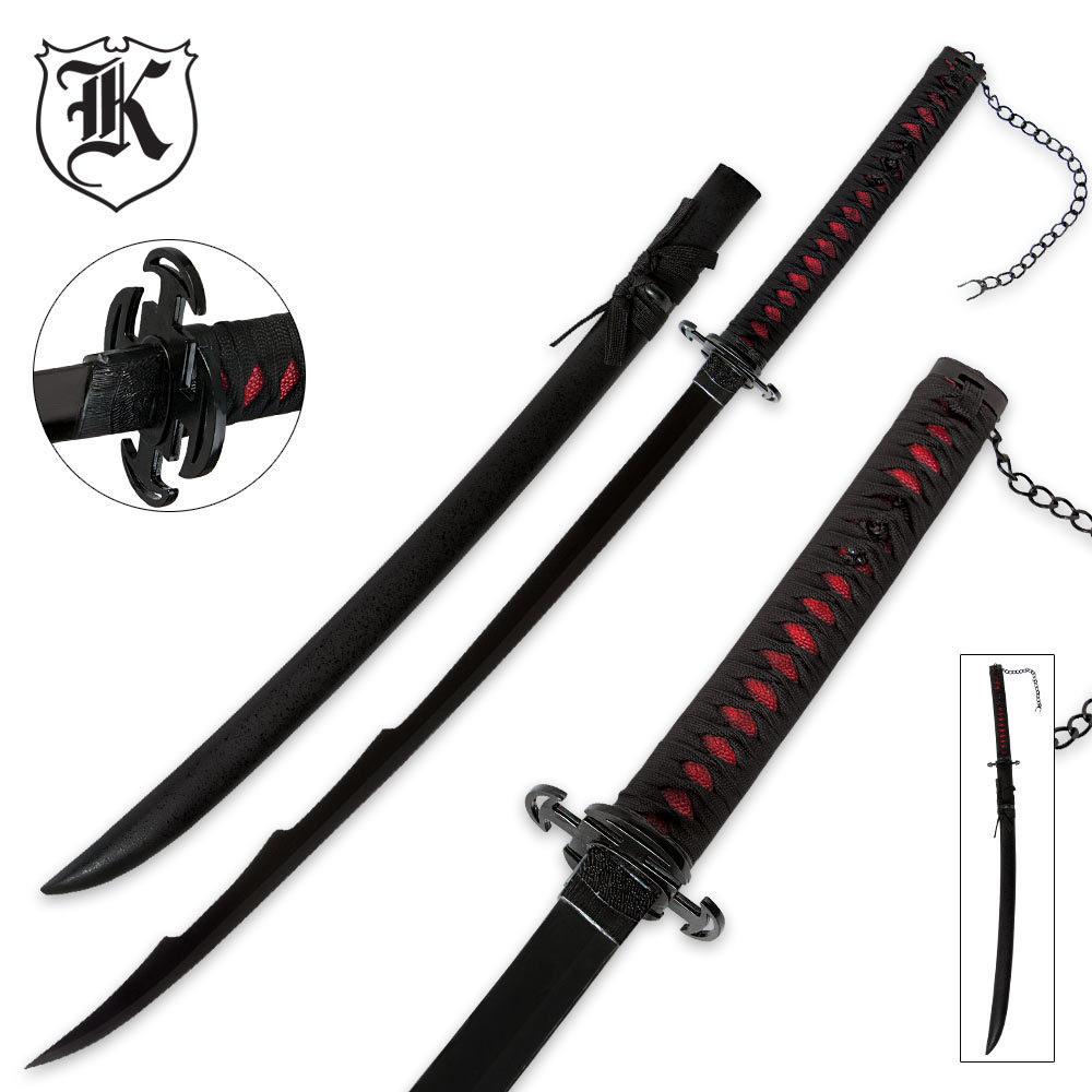 Anime Inspired Ichigo Tensa Zangetsu Bankai Sword | BUDK ...