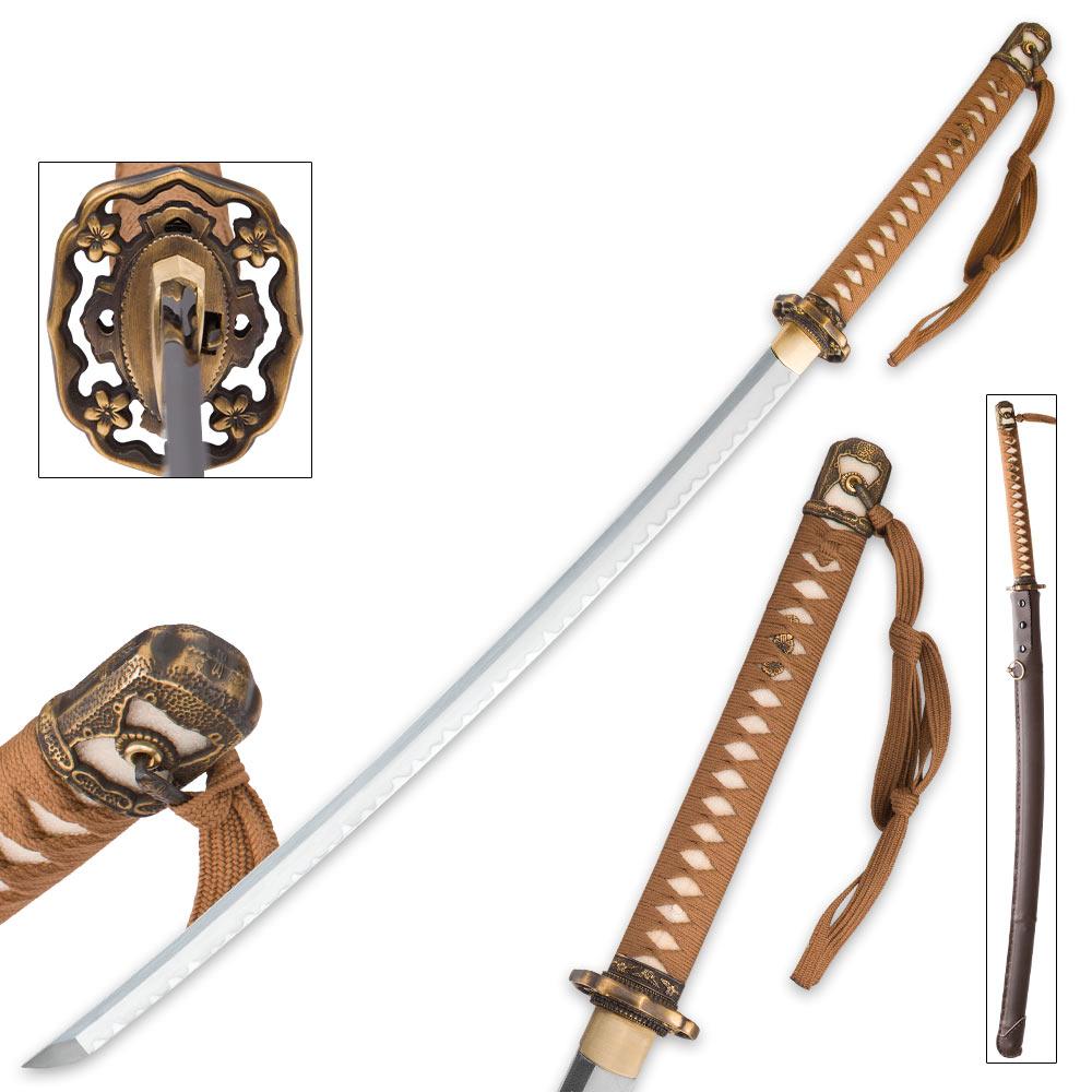 Japanese Officer W W II Replica Katana | True Swords