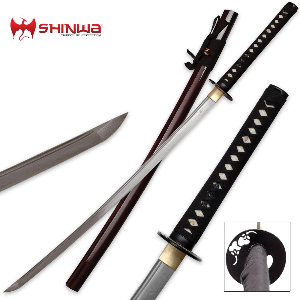 Hand Forged Damascus Steel Samurai Katana Sword | Kennesaw ...