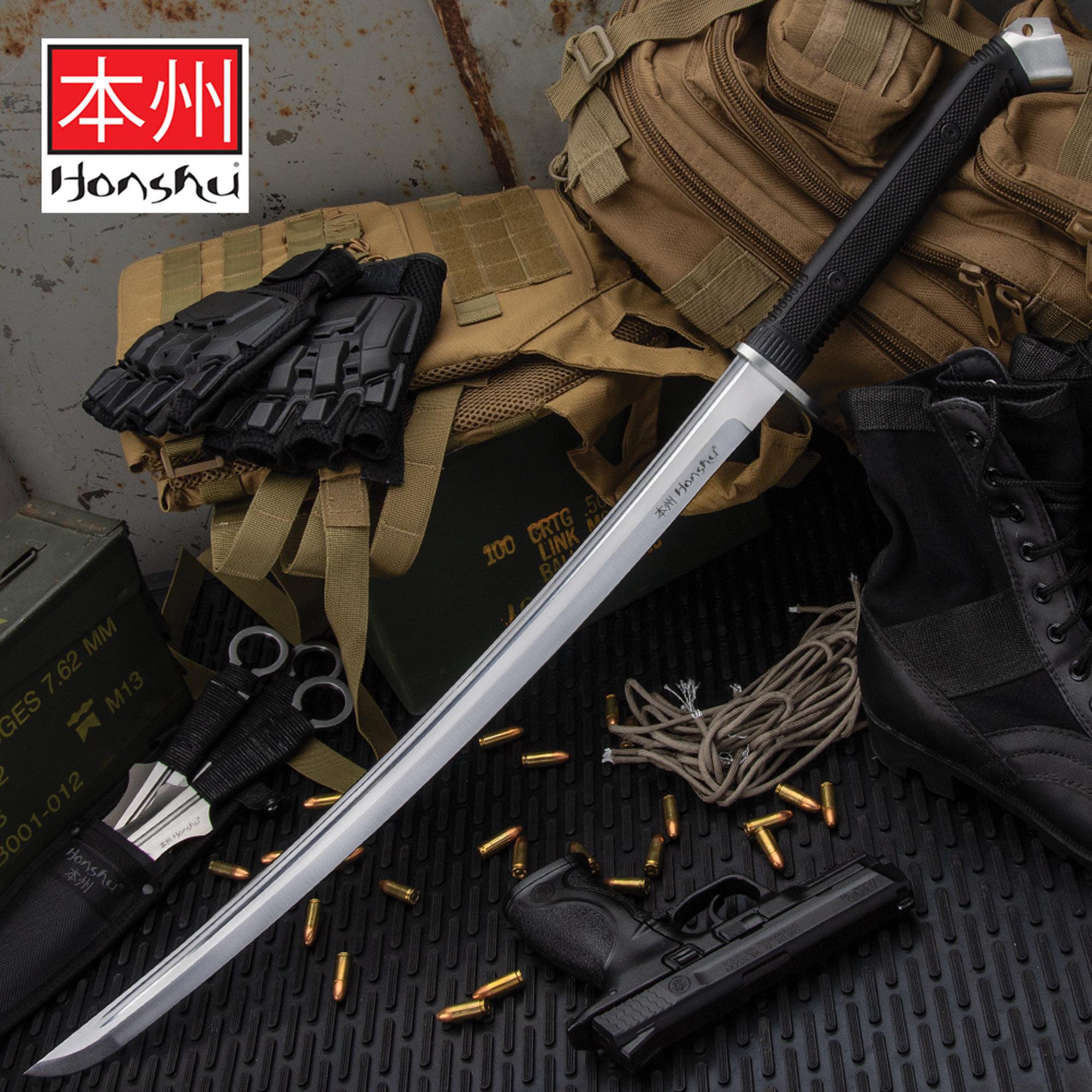 Honshu Boshin Wakizashi Modern Tactical Samurai Ninja