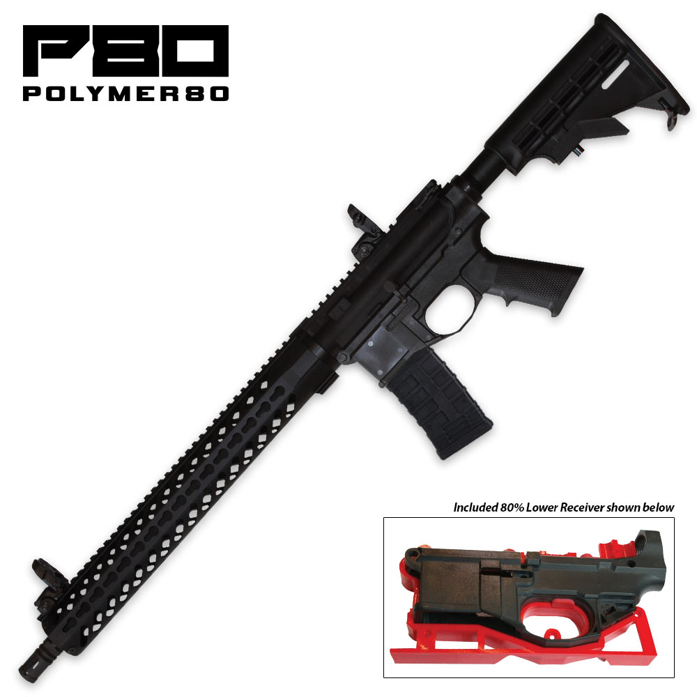 Polymer80 - AR Build Kit with 80% Lower Receiver