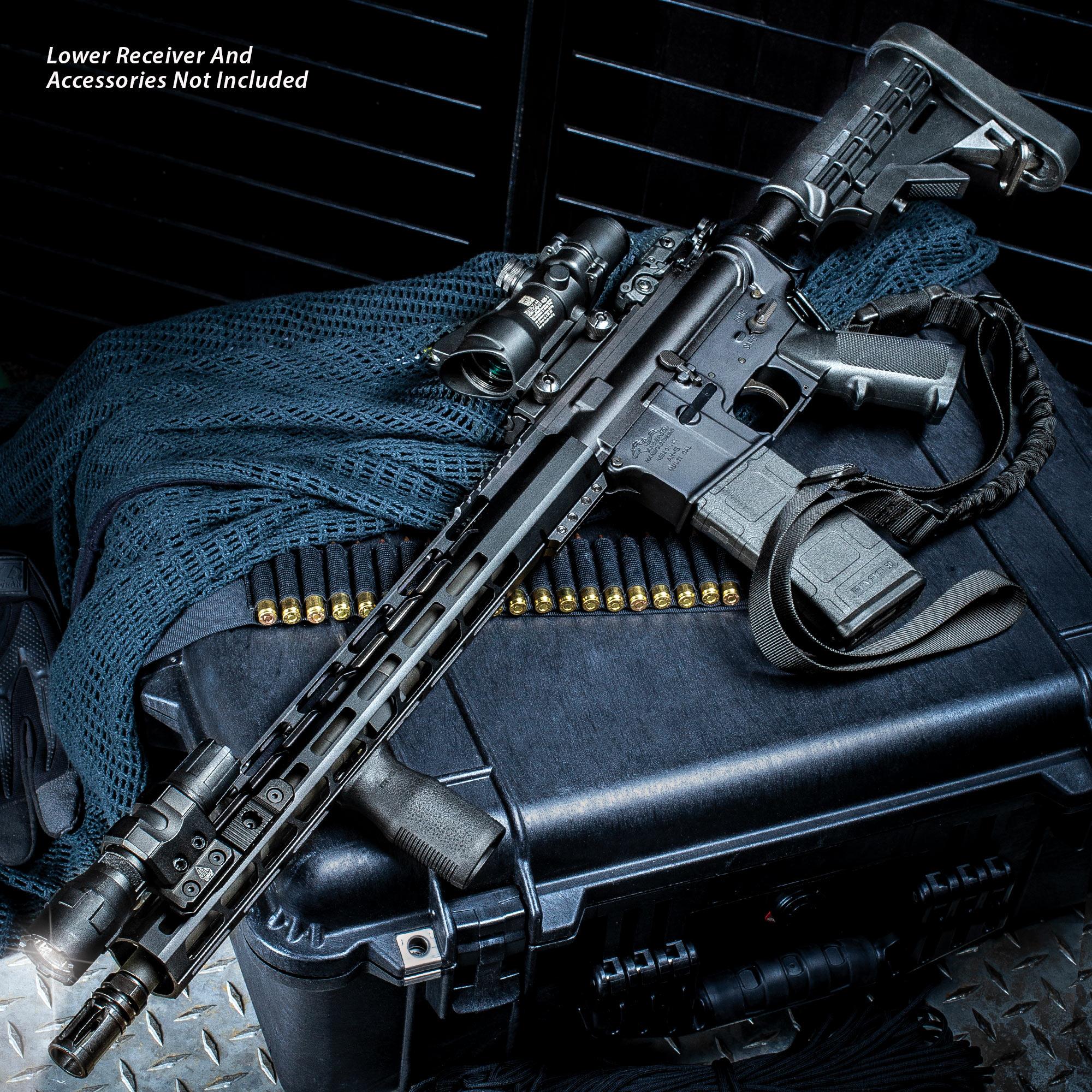 "TACFire AR-15 Rifle Build Kit - 5 56 NATO 16"" Barrel With"