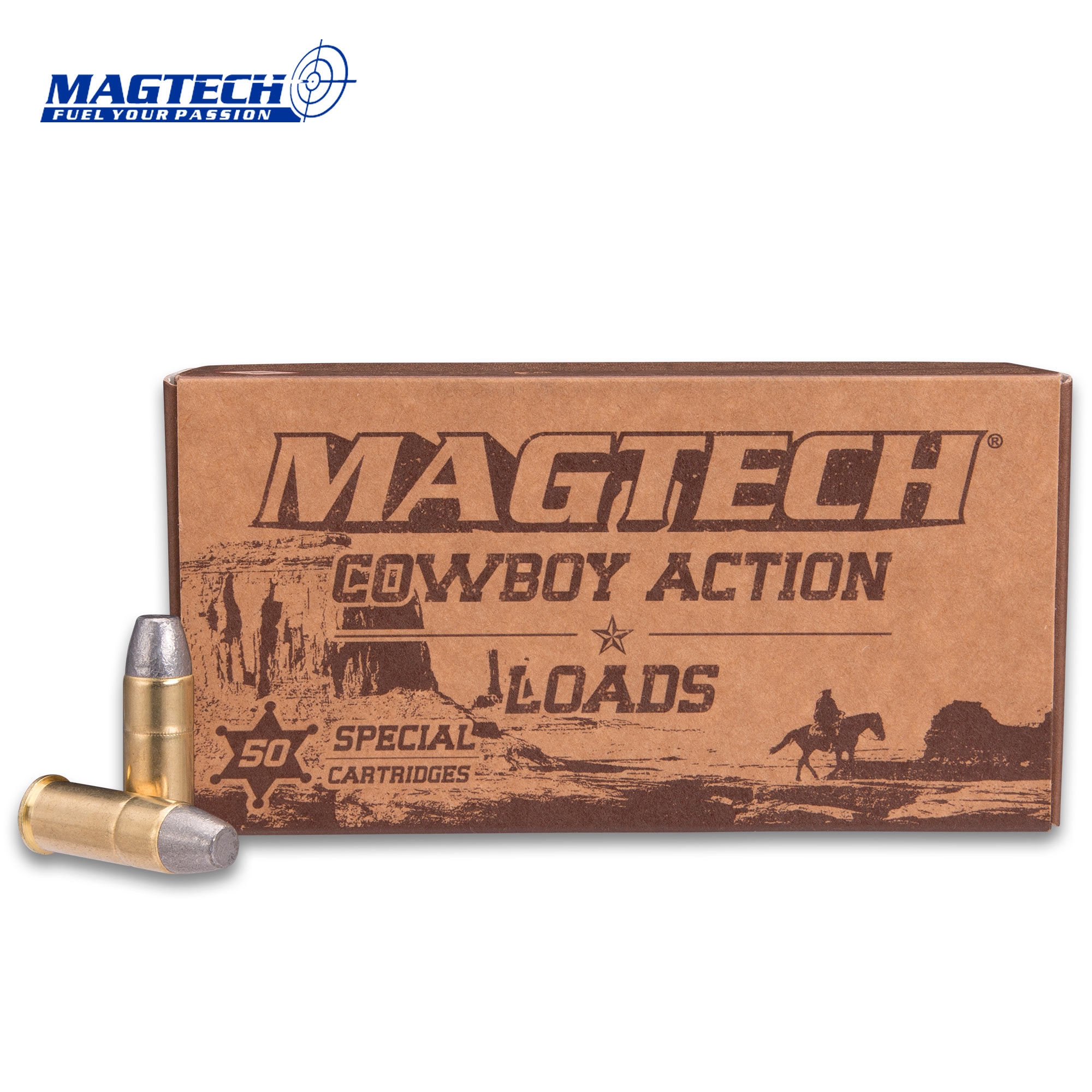 Magtech  44 Special / 240gr Lead Flat Nose Ammunition - Box of 50