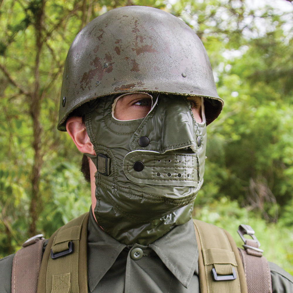 Military Surplus Gi Cold Weather Face Mask Like New Budk