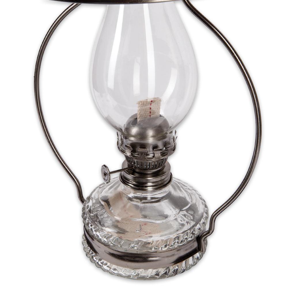 Sugar Creek Hanging Oil Lamp With Reflector