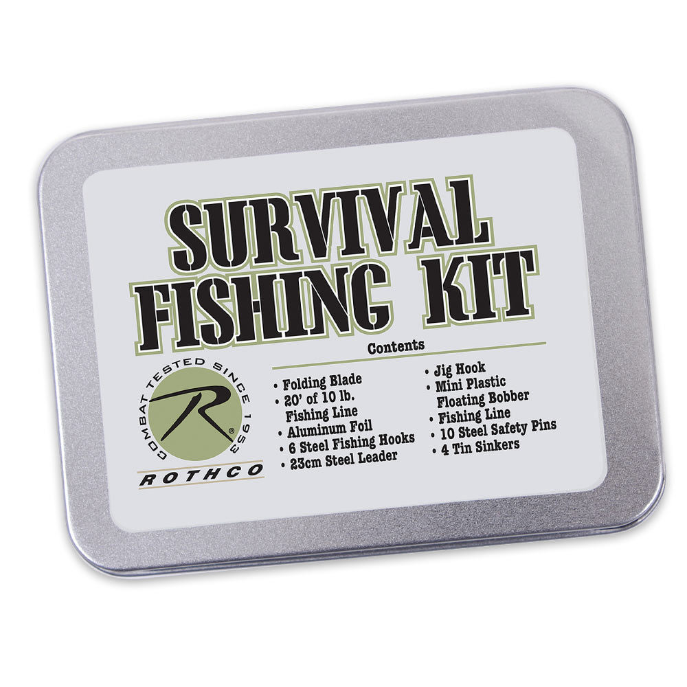 Rothco survival fishing kit survival for Emergency fishing kit
