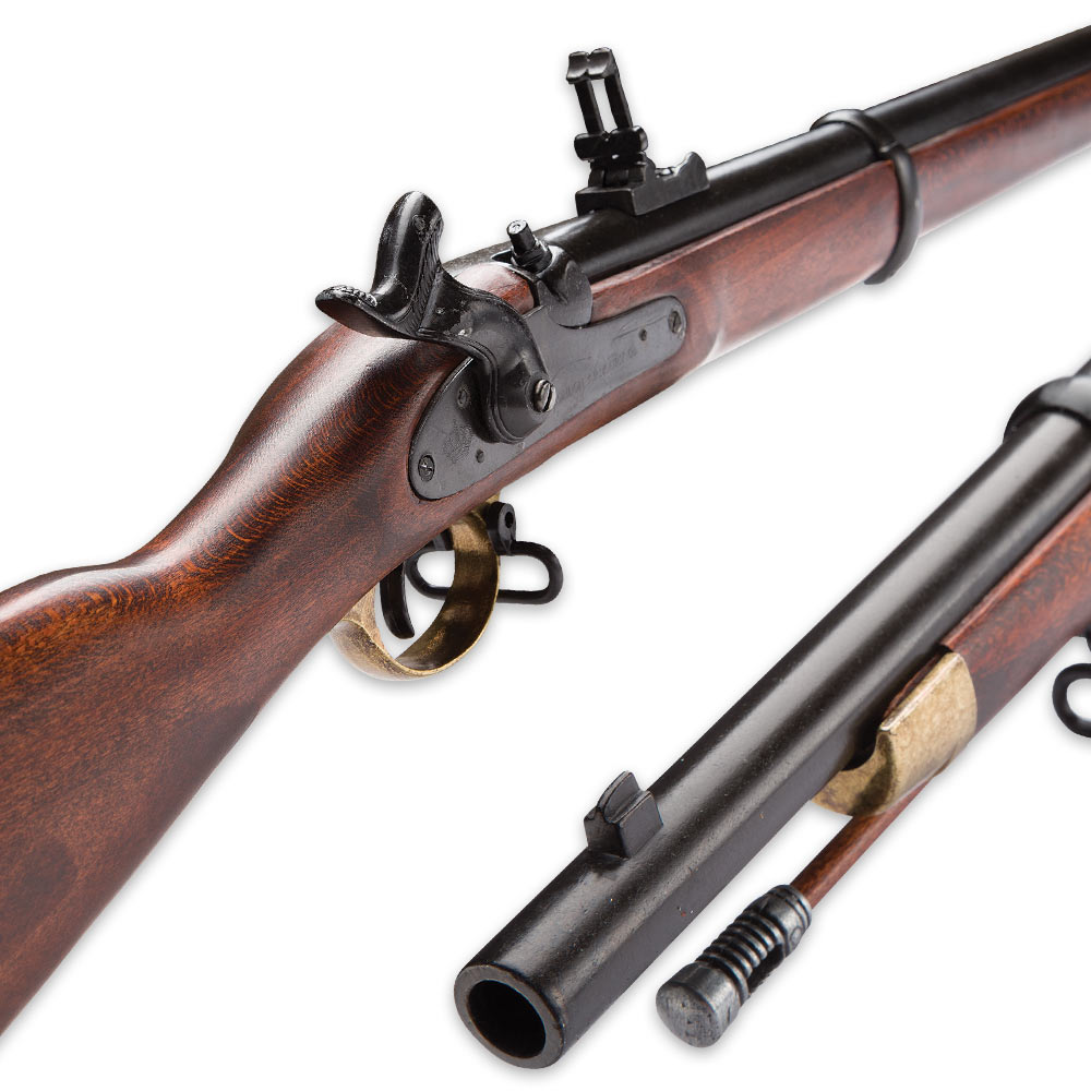 the importance of the invention of the rifled musket Rifled muskets during the american there was also the ferguson rifle, invented by british ma in 1862 - standard model 1861 percussion rifle-musket.