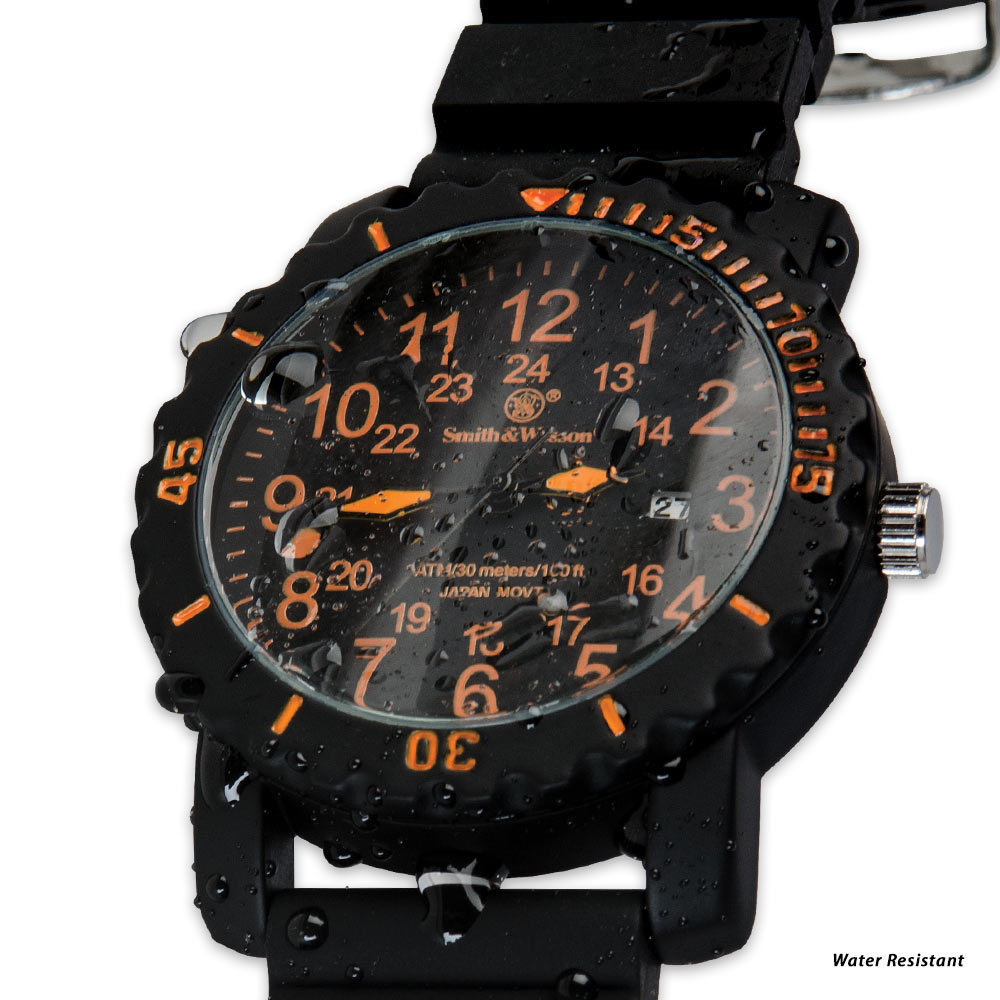 smith amp wesson military dive watch 44 mm case chkadels