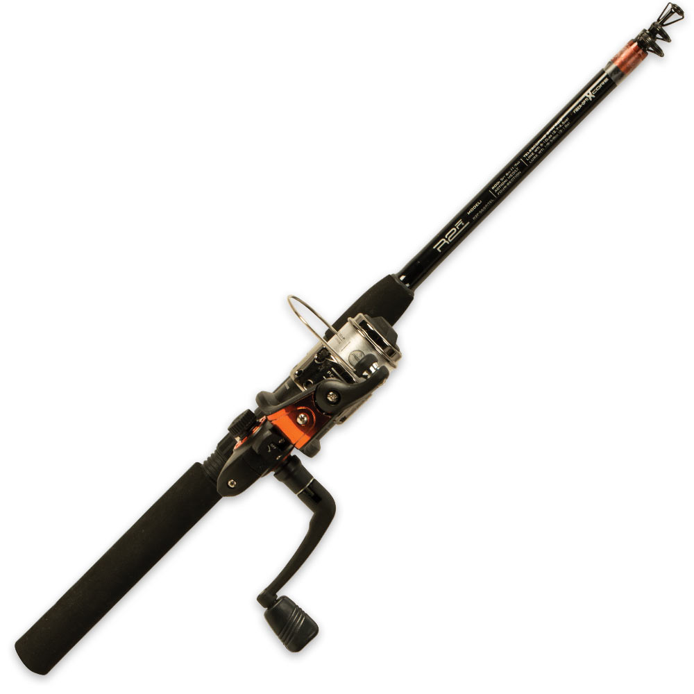Easy travel fishing kit with telescoping rod for Fishing rod price