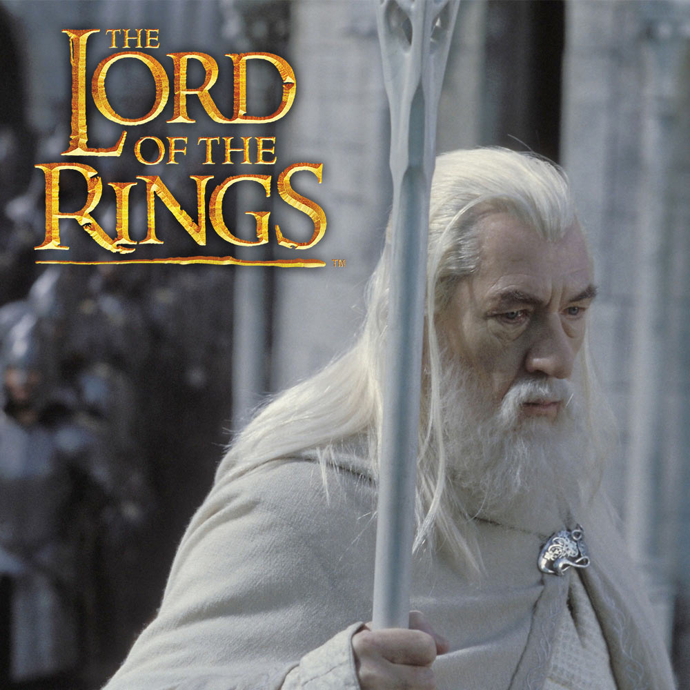 lord of the rings staff of gandalf the white kennesaw