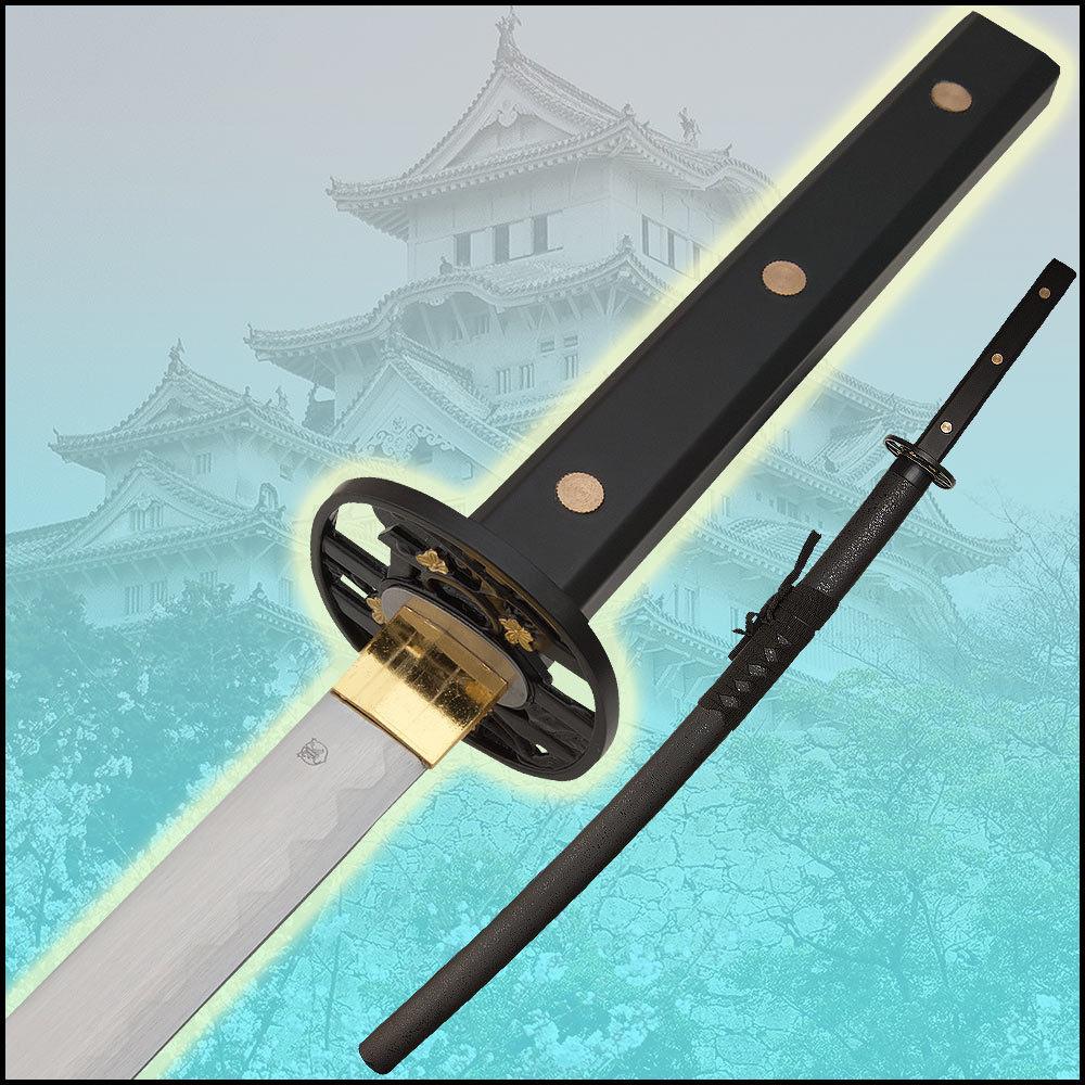 Ninjas Samurai Swords: Black Tiger Samurai Ninja Katana Sword