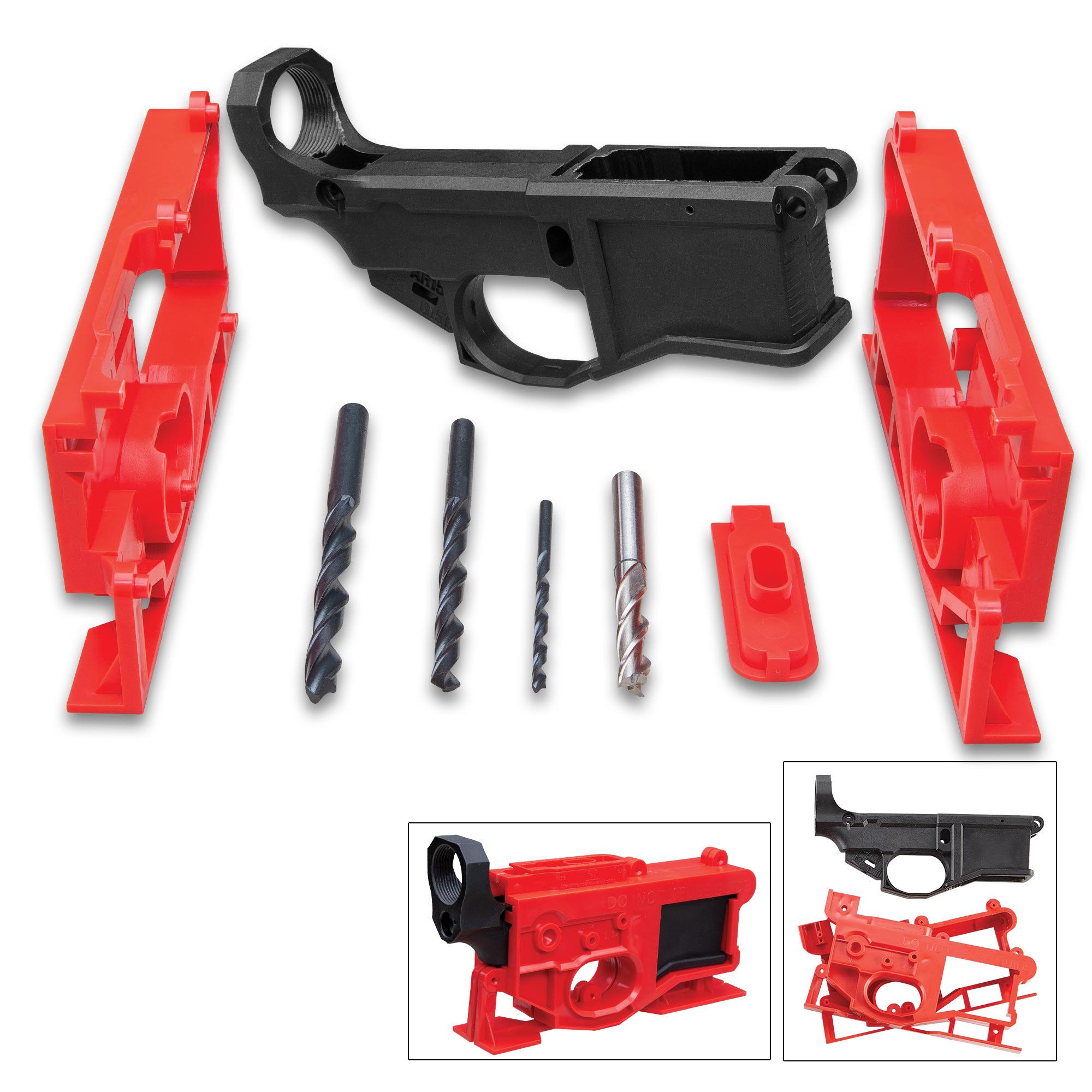 Ar15 80 lower receiver and jig kit polymer80 chkadels com