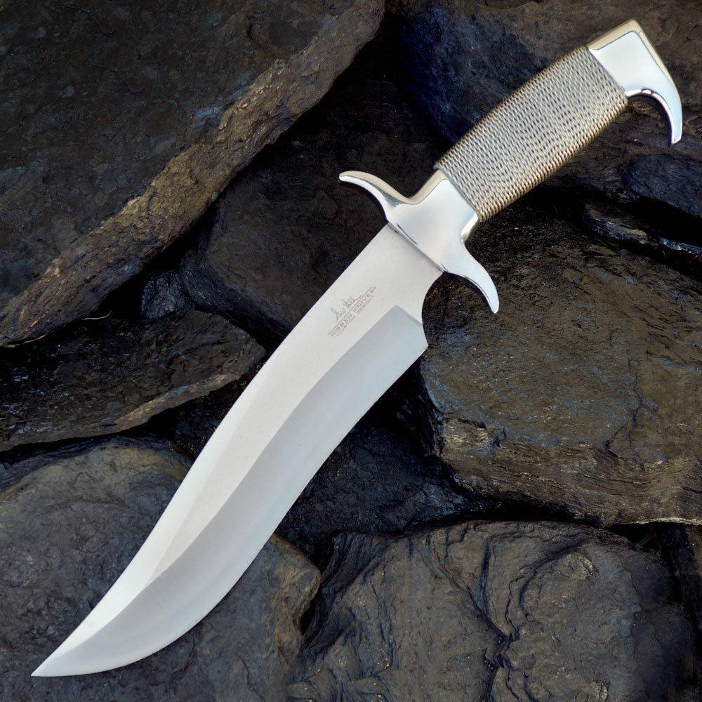 how to make a bowie knife sheath