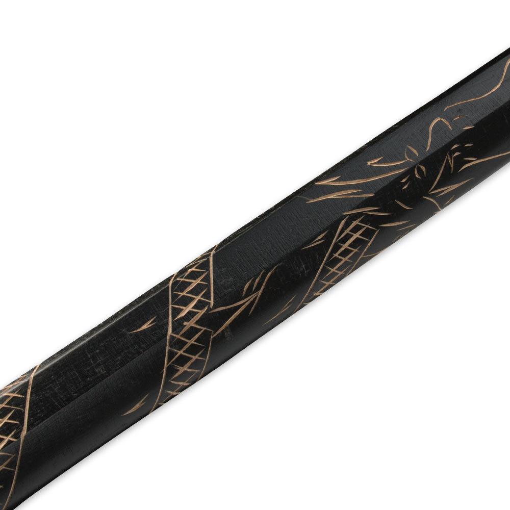 how to make a wooden samurai sword