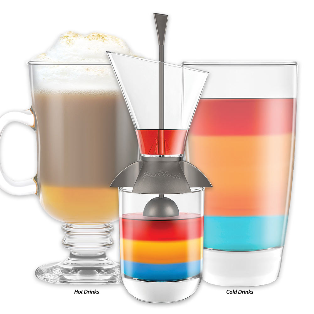 Rainbow Cocktail Layering Tool for Hot and Cold Drinks ...