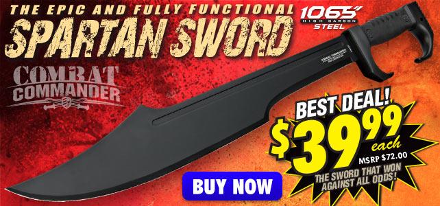 Combat Commander Spartan Sword
