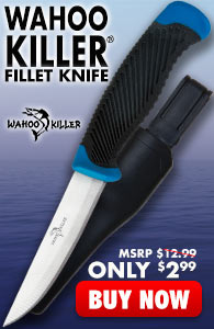 Wahoo Killer Multipurpose Fillet Knife