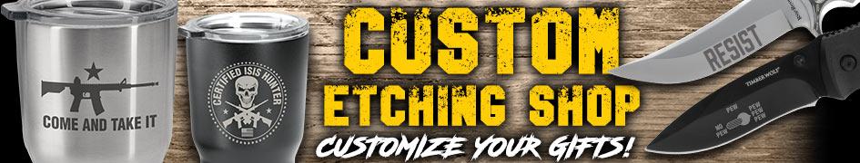Custom Etching Shop