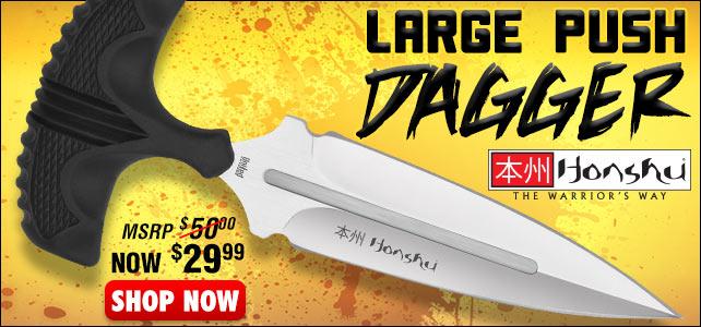 United Cutlery Large Honshu Push Dagger