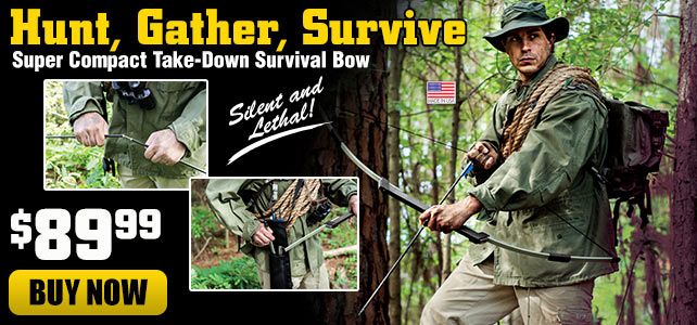 Nomad Compact Take-Down Survival Bow