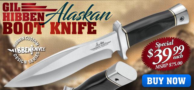 Gil Hibben Alaskan Boot Knife