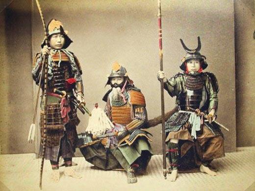 Samurai Warrior Folder