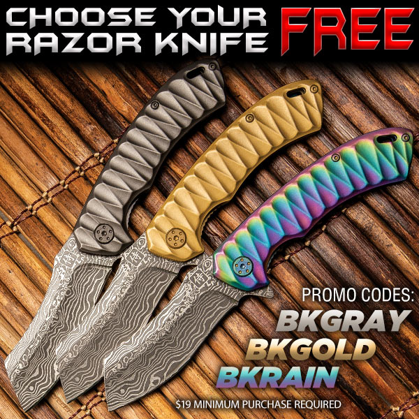 Free Razor Knives