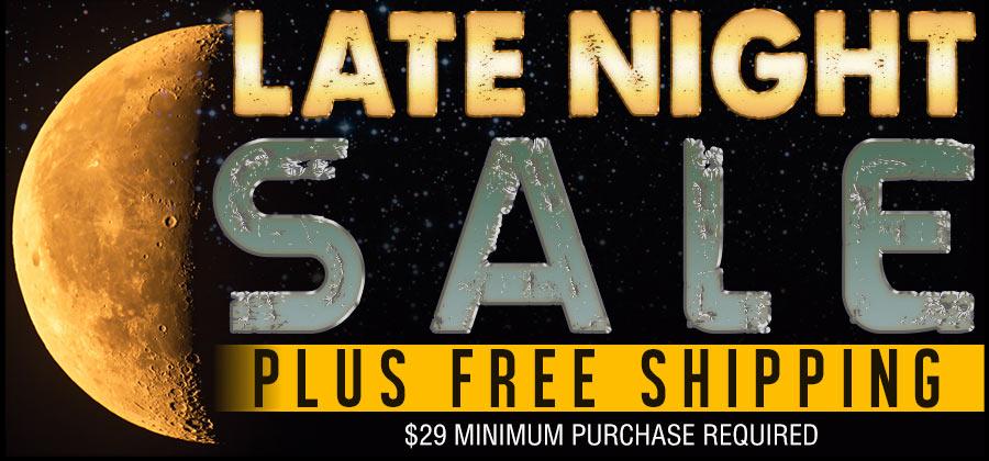 Late Night Sale