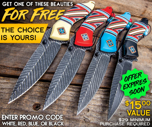 Choose Your Free Knife