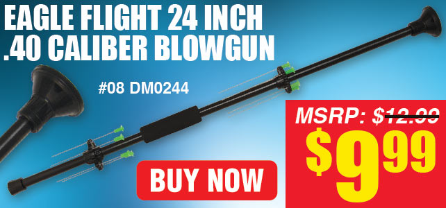 Eagle Flight 24 Inch .40 Caliber Blowgun