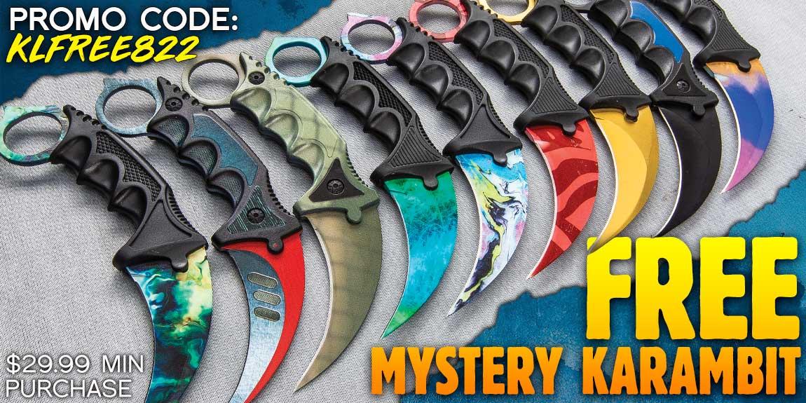 Free Mystery Karambit