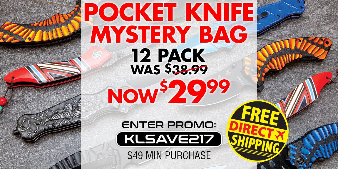 Mystery Knife Set