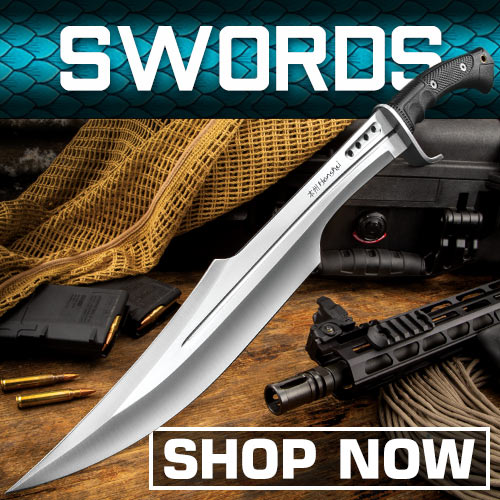 Swords, Knives & Ninja Weapons | TrueSwords com