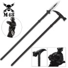 M48 Tactical Survival Hammer & Hunting Spear with Sheath Combo