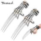 Tomahawk Fantasy Skull Gauntlet Handspike 2 Pc. Set