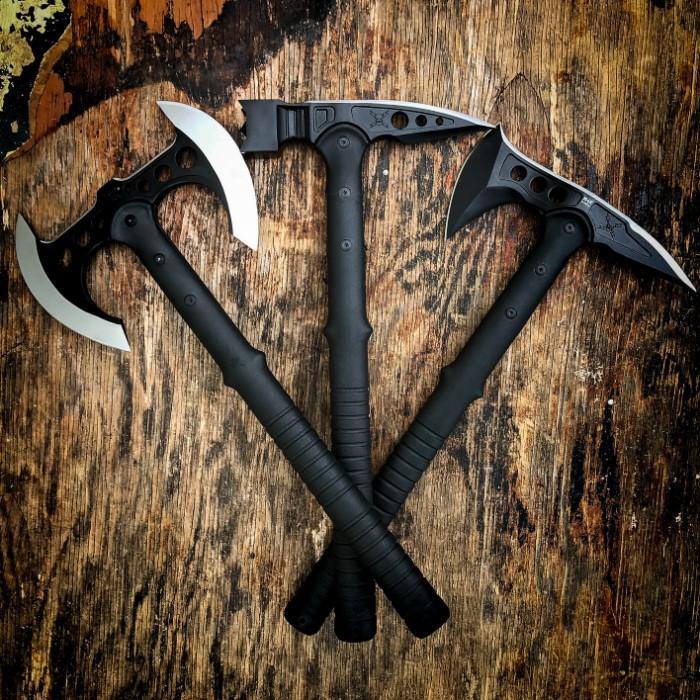 M48 Tactical Trio Tomahawk Axe War Hammer Set Budk Com